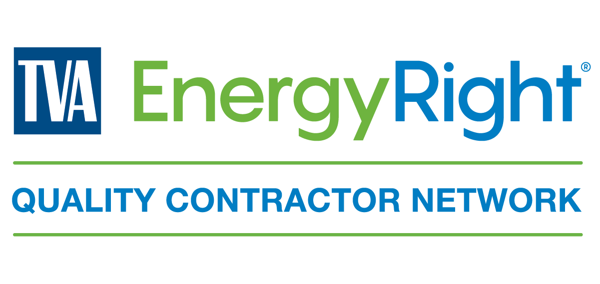 TVA's logo badge for their Quality Contractor Network and EnergyRight program